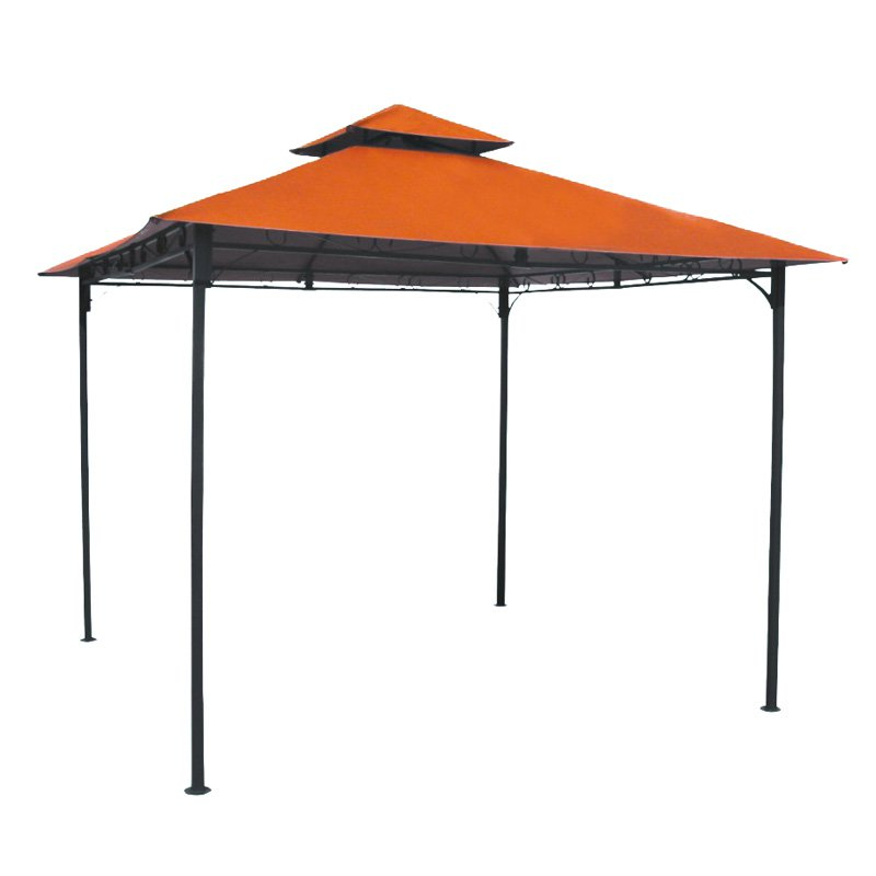 International Caravan Mesa Steel 2-Tier Steel Patio Gazebo with Vent by Intl. Caravan/Golden Needle