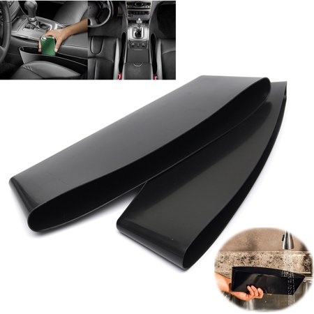 Auto Caddy Slit Pocket Gap Organizer Side Car Seat Tray Box Space Console Seat Side Gap Filler Seat Pocket-Premium for Van Truck SUV