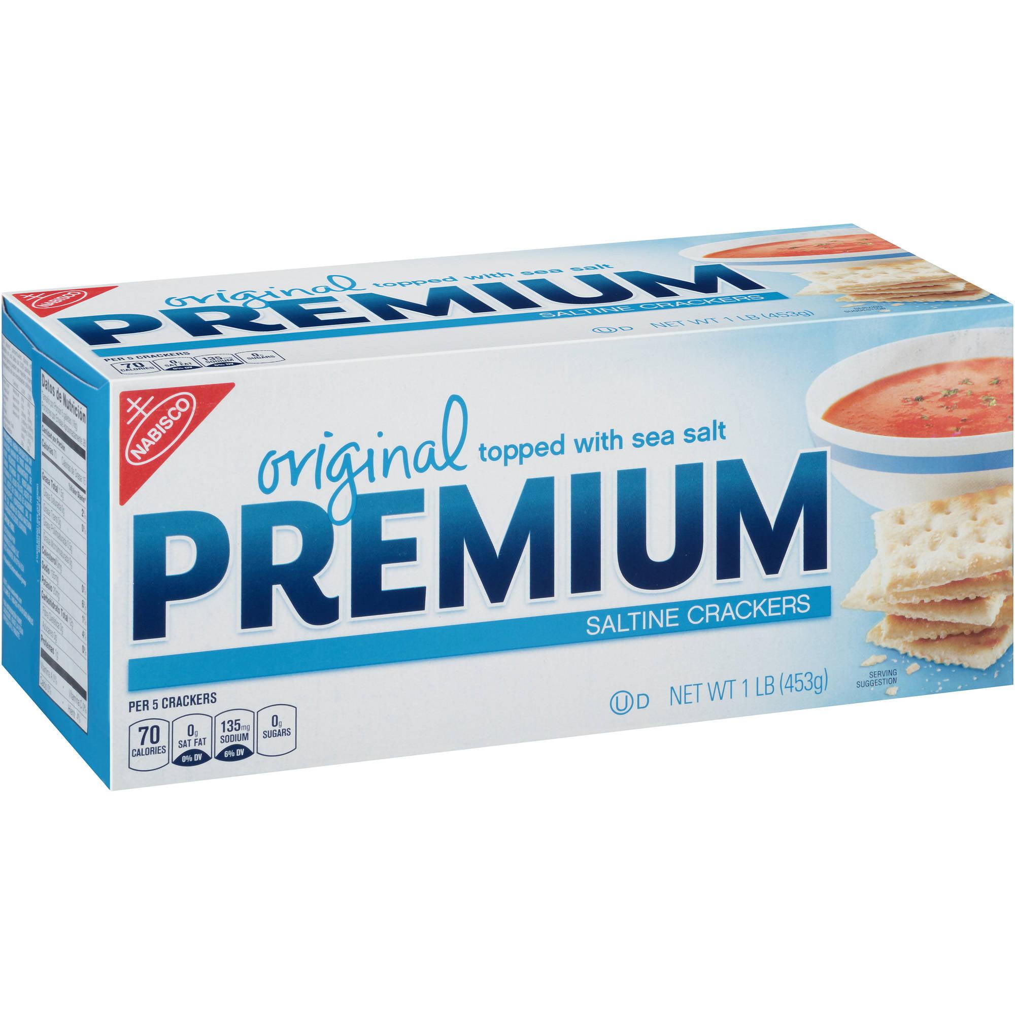 Nabisco Original Premium Saltine Crackers, 16 oz