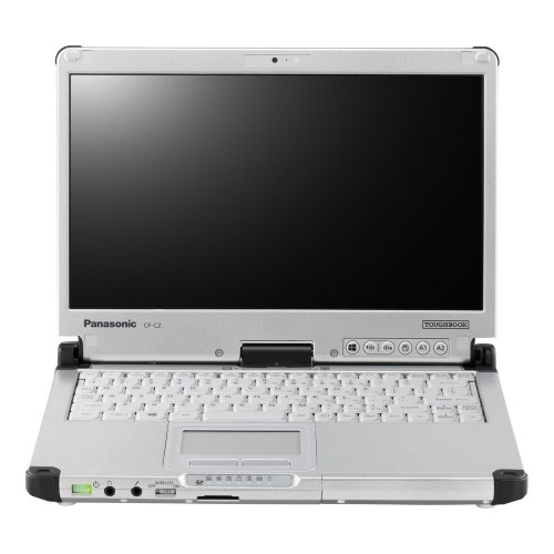 Refurbished Panasonic Toughbook C2 CF-C2CCAZXCM Convertible Notebook 12.5-inch Semi-Rugged Laptop with 8 GB RAM