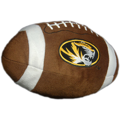 NCAA Plush Football Pillow, Missouri Tigers