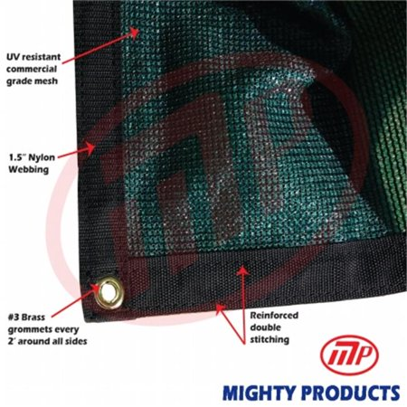 9466b1af668 Mighty Products BMN-MS90-G1414 14 x 14 ft. - 90 Percent Premium Shade Fabric