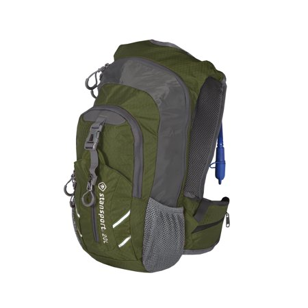Daypack with Hydration Bladder - 20 Liter - Olive