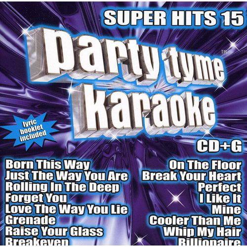 Party Tyme Karaoke: Super Hits, Vol. 15