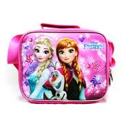 Lunch Bag - Disney - Frozen - Elsa Olaf & Anna Pink New A07972PK