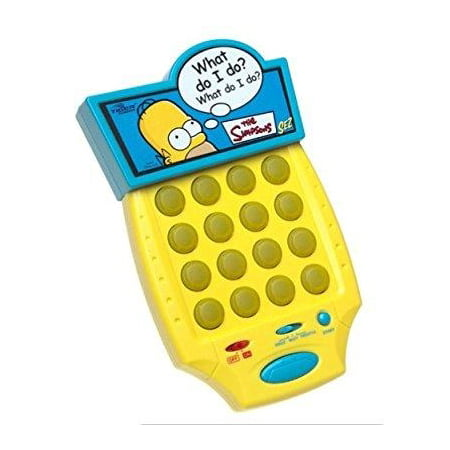 The Simpsons Sez Sound Matching Electronic Handheld Game (2003)