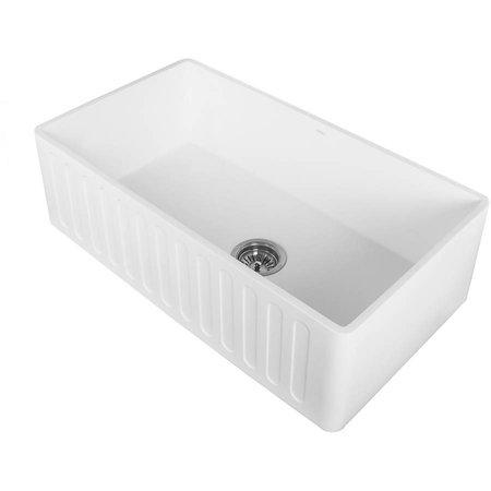 Vigo luxstone farmhouse sinks white - Walmart kitchen sinks ...