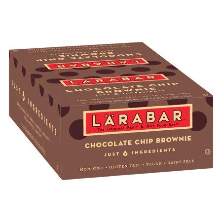 Larabar Gluten Free Bar Chocolate Chip Brownie 1.6 oz Bars ...
