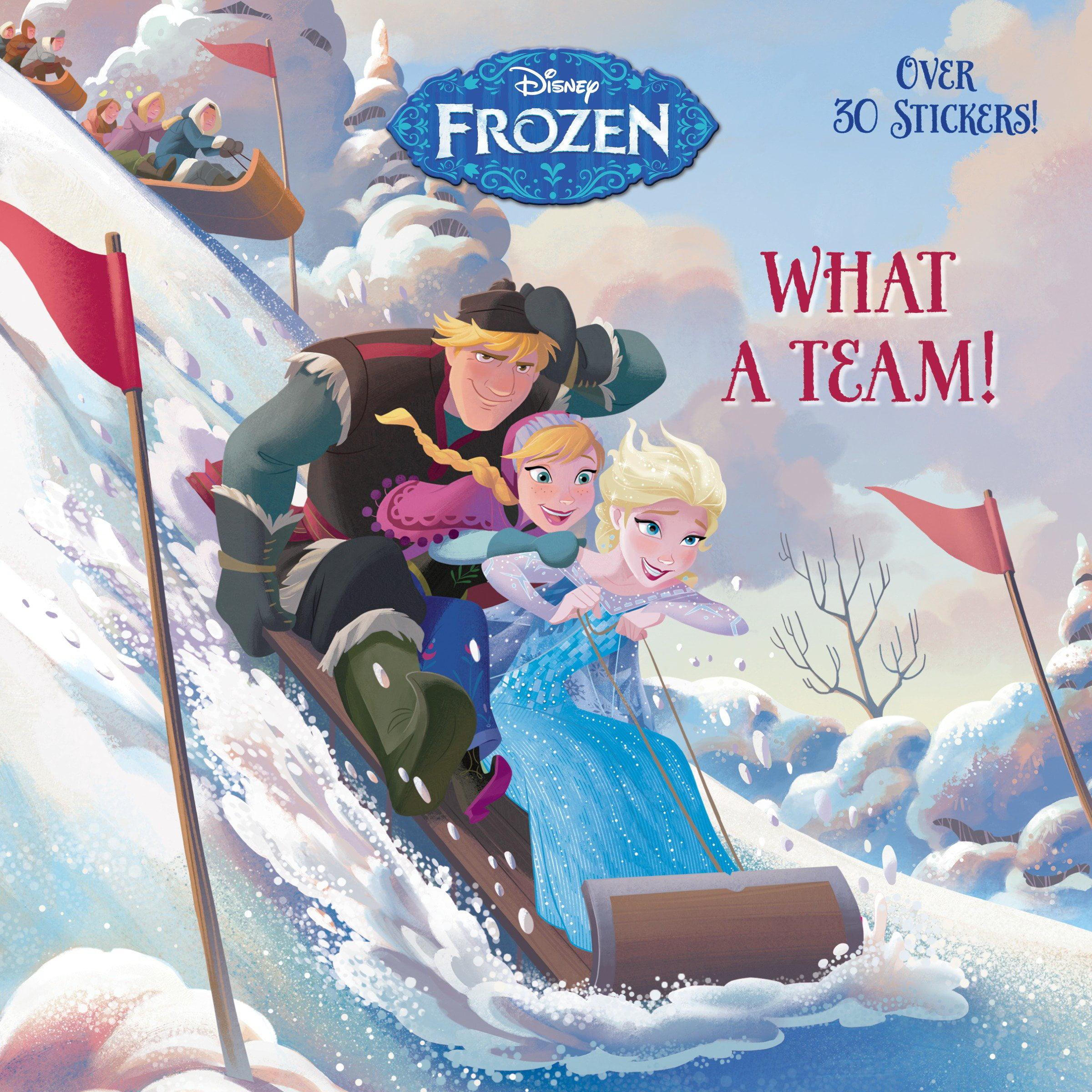 Pictureback(r): What a Team! (Disney Frozen) (Paperback)