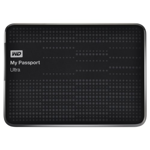 WD My Passport Ultra 1TB Portable Drive, Assorted Colors