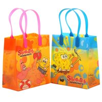 Disney Spongebob 12 Reusable Party Favors Small Goodie Gift Bags 6""