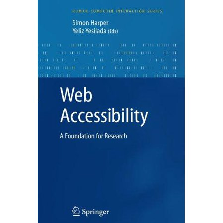 Web Accessibility  A Foundation For Research
