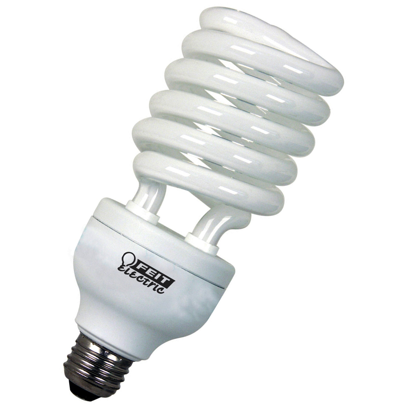 Gu24 Bulb Walmart Viewenlarge Ge Cfl Reveal Spiral 26wt 6 Bulbs 3 Packs 4 In Glossy White
