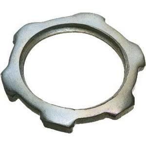 Arlington 408 Plated Steel Threaded Conduit Locknut 3
