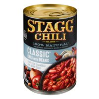 (6 Pack) Stagg Classic Chili With Beans, 15 Ounce