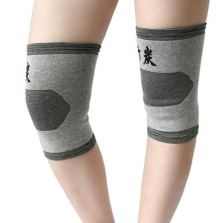 1 Pair Multi-functional Elastic Knee Sleeve Compression Knee Brace Support Warmer ()