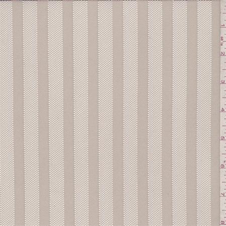 Gold Pearl Satin Stripe Mesh, Fabric By the Yard