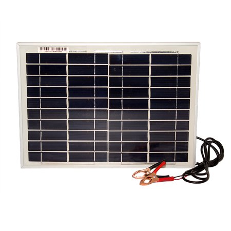 10 Watt Polycrystalline Solar Panel Charger For Car Battery