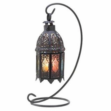 Rainbow Moroccan Lantern Stand ()