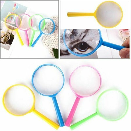 Children's Magnifying Glass (AkoaDa  Magnifying Glass Children Kids Handheld Jewelry Casual Practical)
