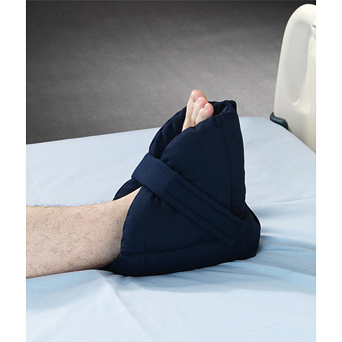 Posey Quilted Heel Pillow Solid Navy