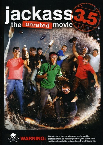 Jackass 3.5: The Unrated Movie (DVD) by PARAMOUNT HOME VIDEO