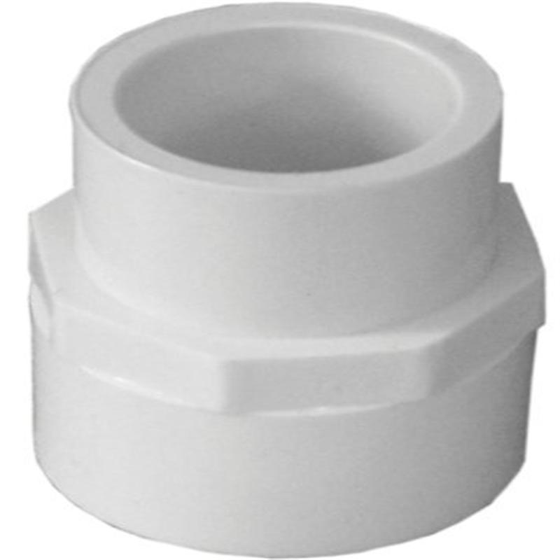 """Genova Products 30175 PVC Reducing Coupling, 3/4 x 1/2"""" b..."""