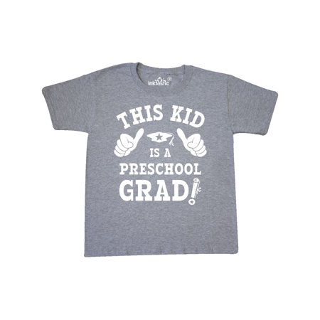This Kid Preschool Grad WHT Youth T-Shirt - Kids Graduation