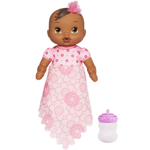 Baby Alive Luv 'n Snuggle Baby Doll African American with blanket