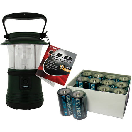 - Dorcy 65-lumen Camping Lantern with 12-Pack Super Heavy Duty D Batteries