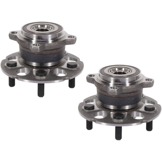 2PC Rear Wheel Bearing And Hub Assembly For 2013-2015