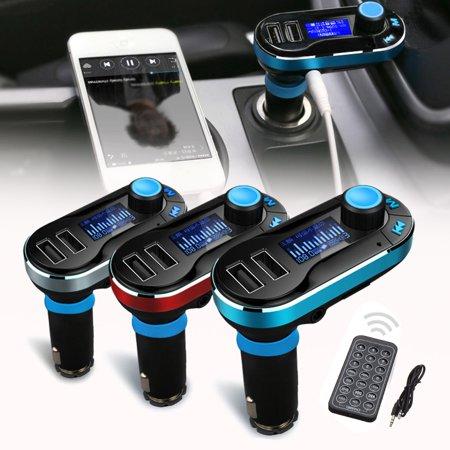 Bluetooth Accessories - Wireless Hands-free bluetooth FM Transmitter Modulator Car Kit MP3 Player USB Car Accessories 3 Colors