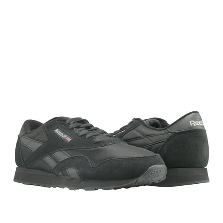 b0a7f7455fa Reebok Classic Nylon Triple Black Men s Running Shoes BD5993 ...