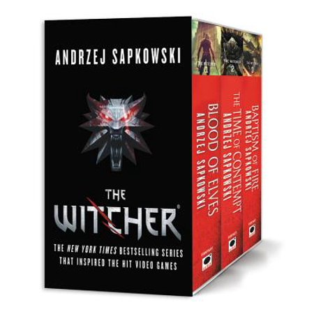 The Witcher Boxed Set: Blood of Elves, The Time of Contempt, Baptism of