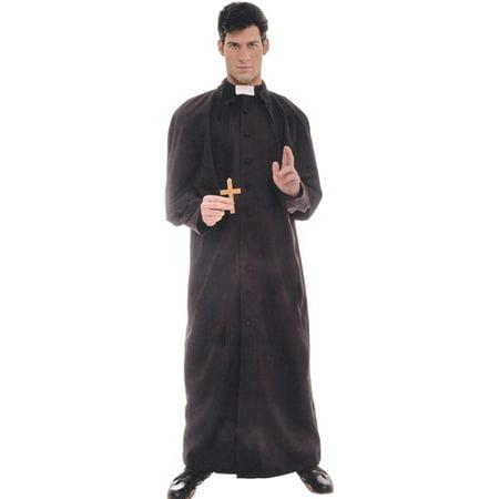 Priest Adult Halloween Costume, Size: Men's - One Size (Halloween Costumes Priest)
