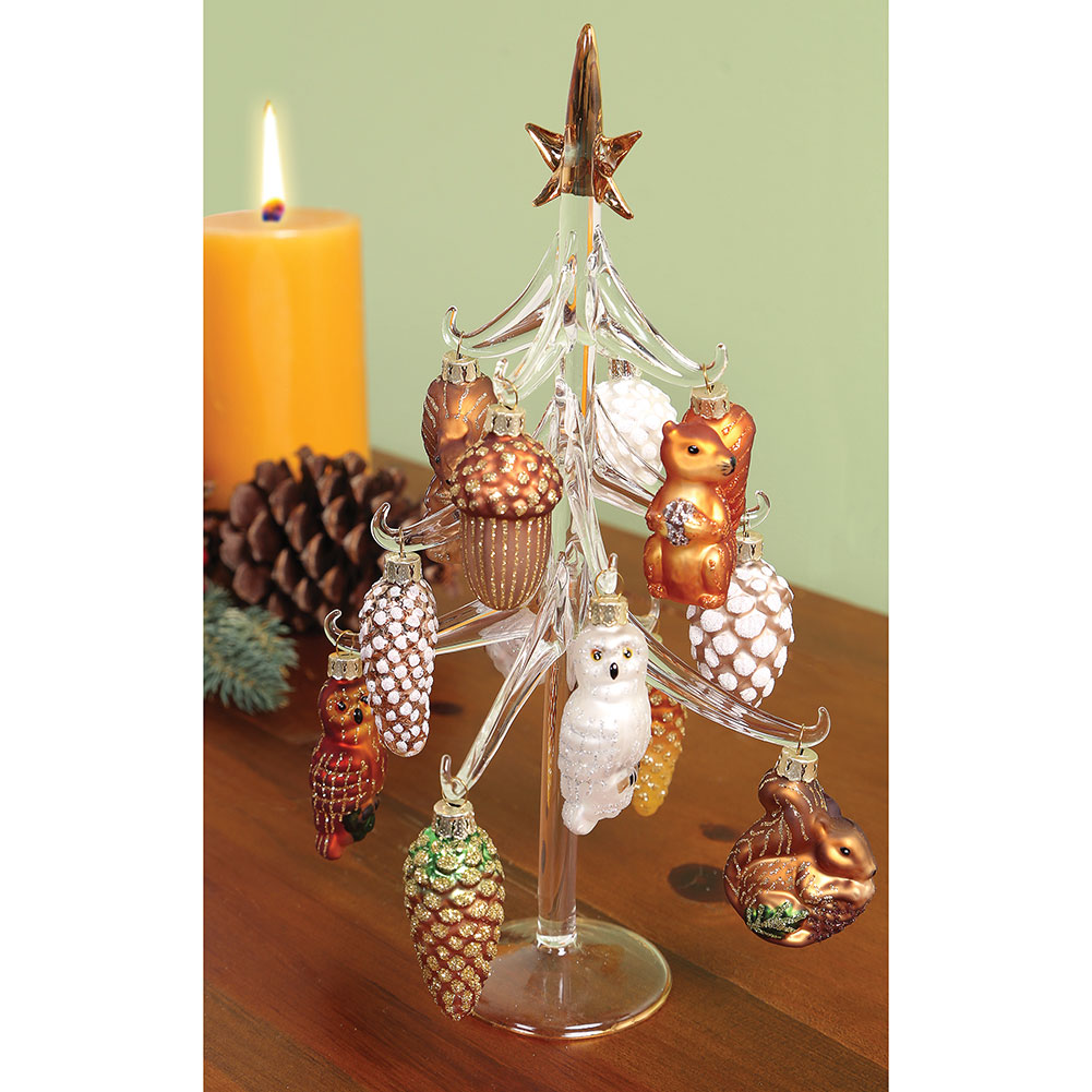 Woodland Glass Ornament Tree - Exclusive From What On Earth