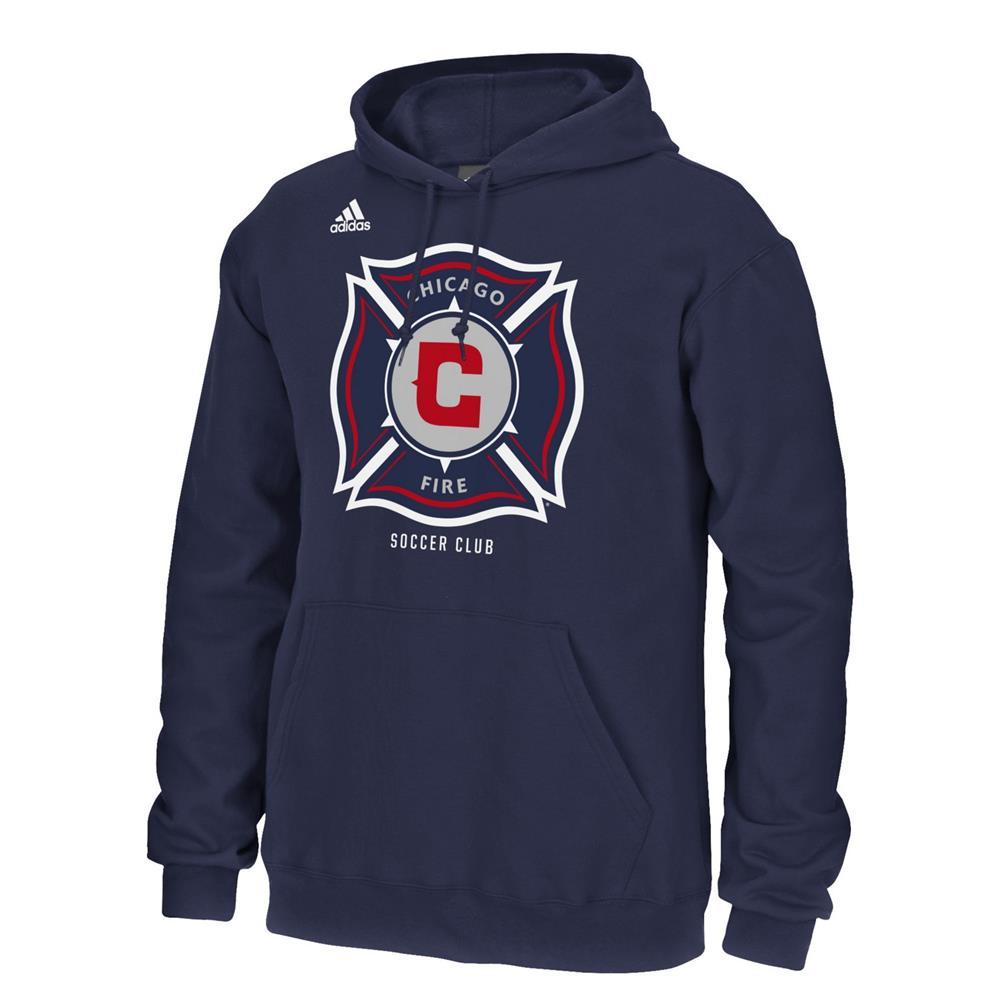 Chicago Fire Hoodie Adidas Hooded Sweatshirt