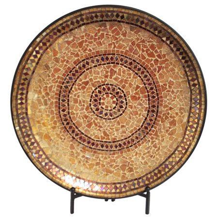 Urban designs decorative mosaic plate for Decoration plater