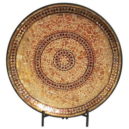 Urban Designs Decorative Mosaic Plate