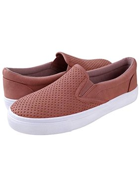 f44975400a3 Free shipping. Product Image Soda Shoes Women's Tracer Slip On White Sole  Shoes Mauve ...