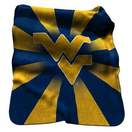 Logo Chair NCAA West Virginia Raschel Throw