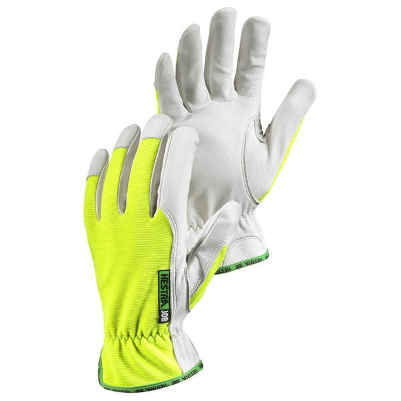High-Visibilty Kobolt Reflector Work Gloves, Hi/Vis Yellow/White