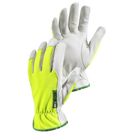 High-Visibilty Kobolt Reflector Work Gloves, Hi/Vis Yellow/White -  Hestra, 0033249300730