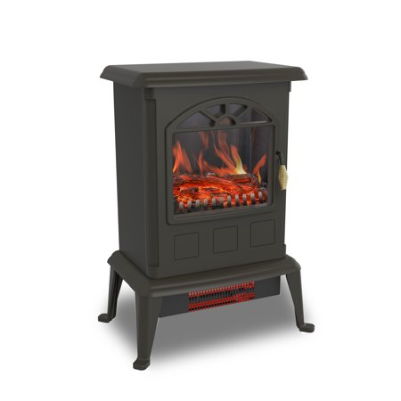 Warm Living Portable Infrared Quartz Home Fireplace Stove Heater ()