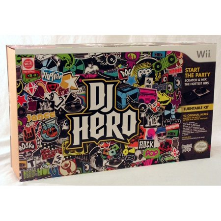 DJ Hero Turntable Kit for WII