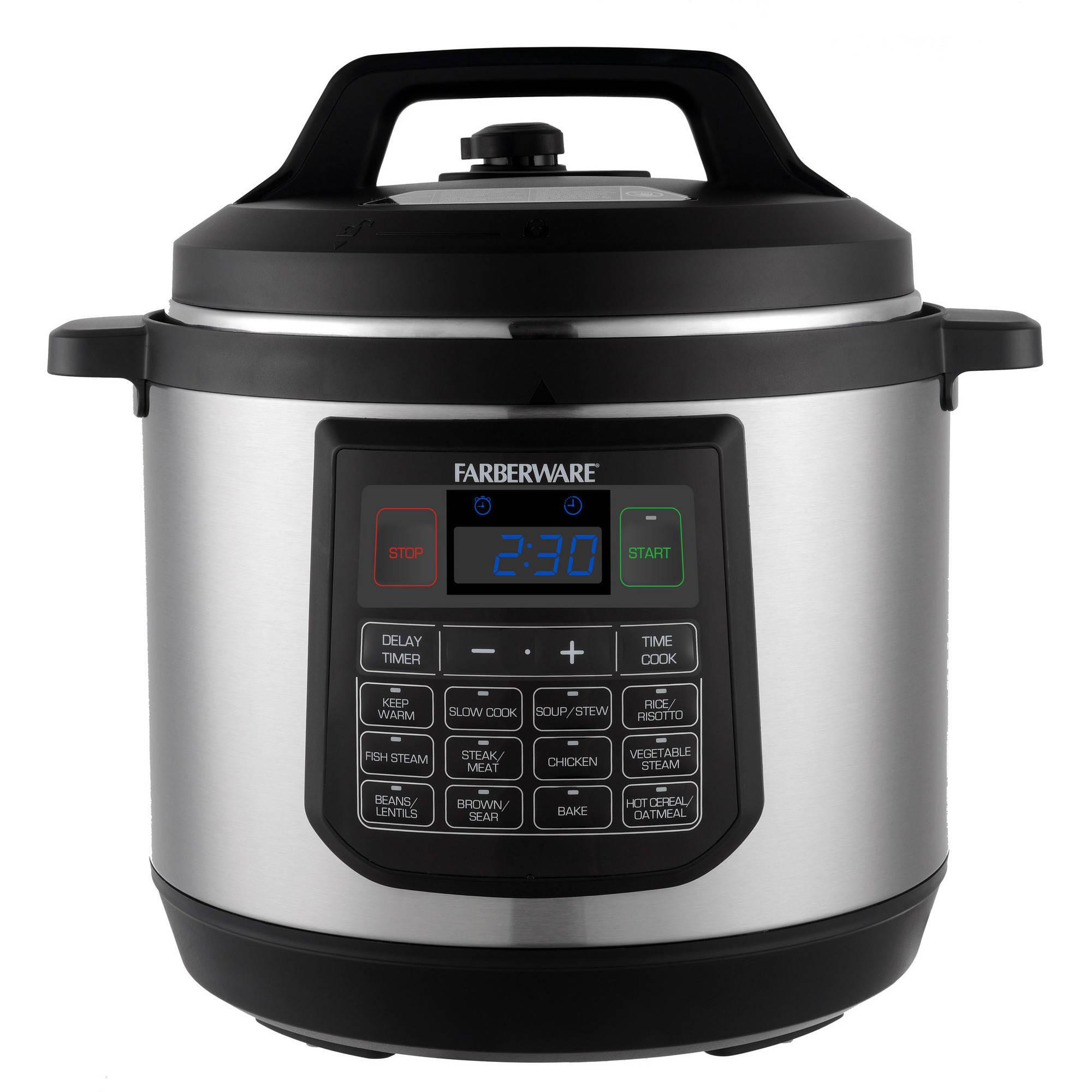 Farberware 8-Quart Pressure Cooker - Walmart.com