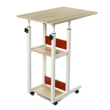 Mobile Laptop Stand Desk Lap Bedside Table Tray Sofa Multi-function Adjustable - image 3 of 5