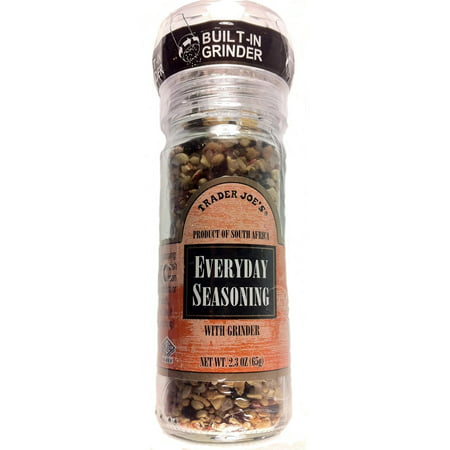 Trader Joe's Everyday Seasoning with Built in Grinder Use on Everything Every... (Trader Jobs)