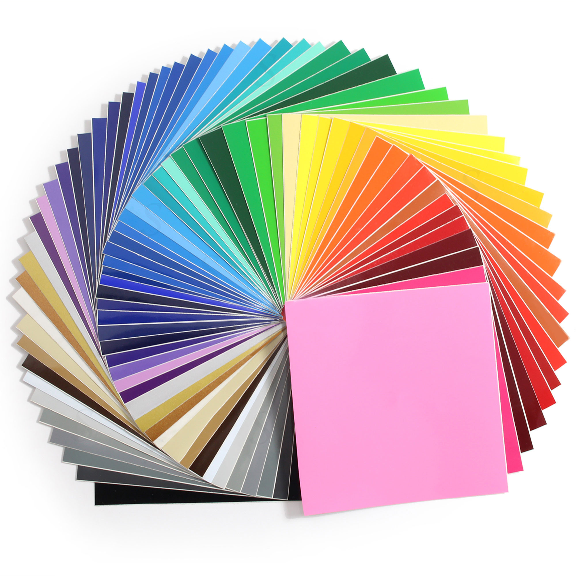 Oracal 651 Glossy Vinyl 12 x 12 - 61 Assorted Colors