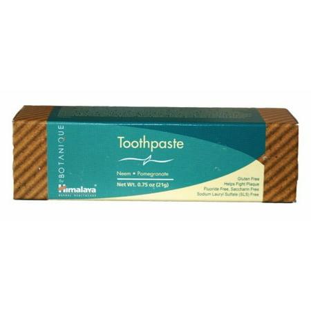 Toothpaste Neem & Pomegranate Himalaya Herbals 0.74 oz